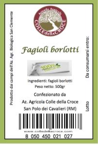 Borlotti etichetta