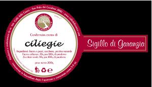 Etichetta ciliegie