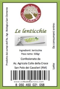 Lenticchie-etichette