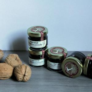 noci verdi, vaniglia e cannella