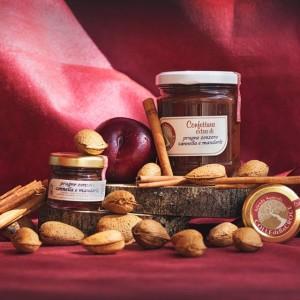 Plum, Ginger, Cinnamon and Almond Jam