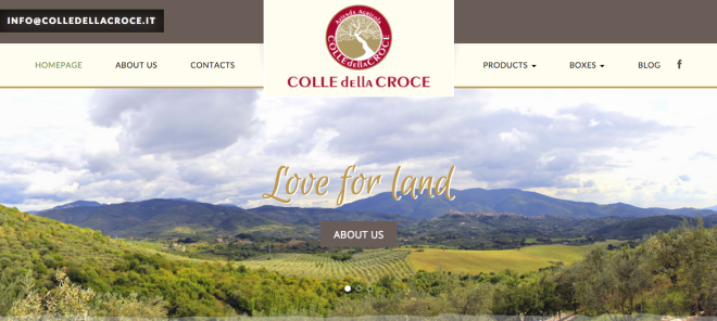 farmhouse colle della croce new year new web site