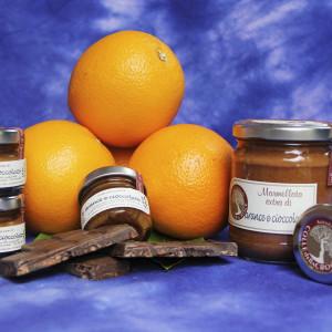 confettura di arance e cioccolato