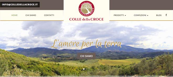 Azienda Agricola Colle della Croce Anno Nuovo sito nuovo
